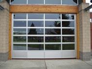 Commercial Aluminum Garage Doors